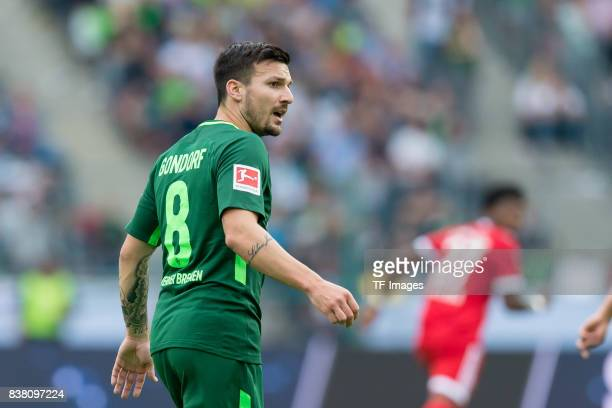 Jerome Gondorf of Bremen looks on during the Telekom Cup 2017 Final between SV Werder Bremen and FC Bayern Muenchen at Borussia Park on July 15 2017...