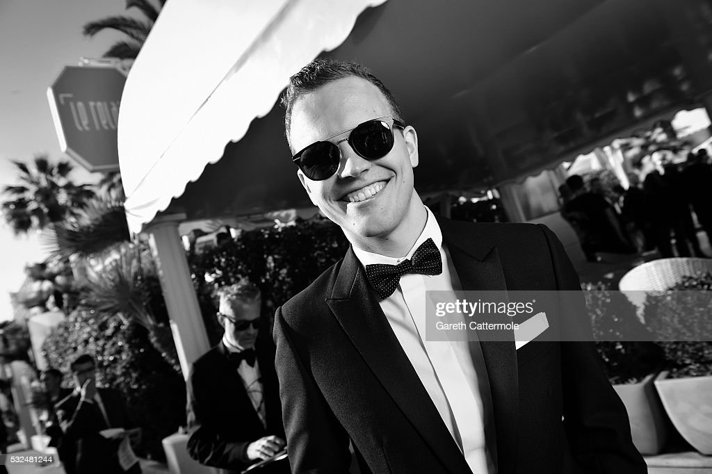 Jerome Jarre departs the Martinez Hotel during the 69th annual Cannes Film Festival on May 17 2016 in Cannes France