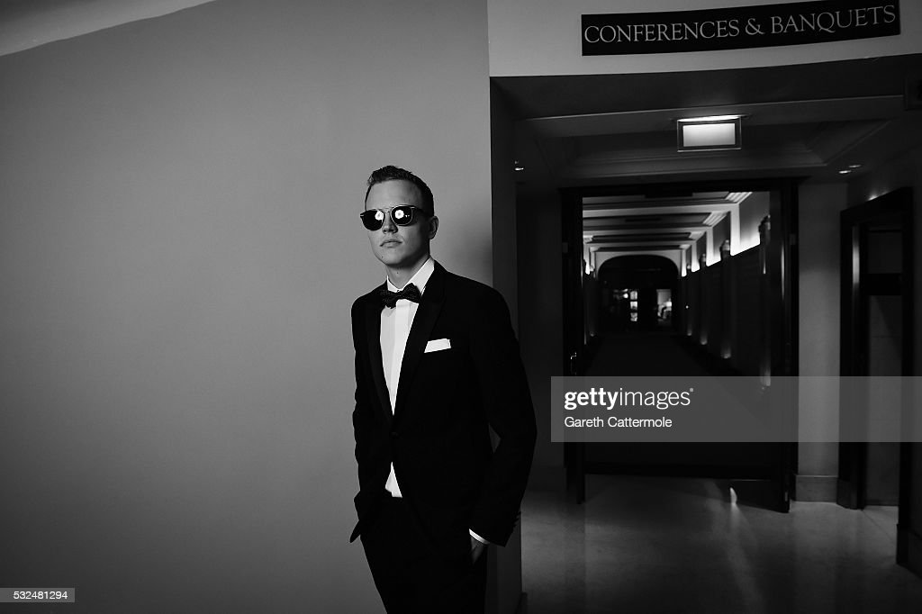 Jerome Jarre poses for a portrait at the Martinez Hotel during the 69th annual Cannes Film Festival on May 14 2016 in Cannes France