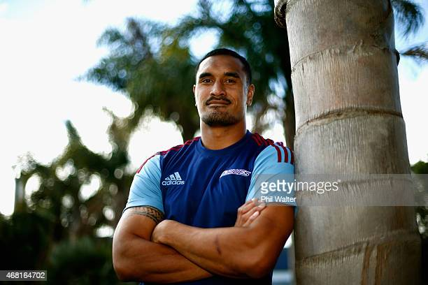 Jerome Kaino after a Blues Super Rugby press conference at Unitec on March 31 2015 in Auckland New Zealand Jerome Kaino today announced that he has...