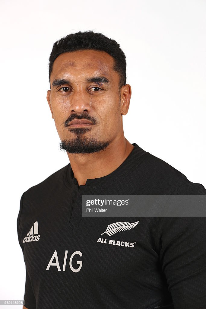 <a gi-track='captionPersonalityLinkClicked' href=/galleries/search?phrase=Jerome+Kaino&family=editorial&specificpeople=566976 ng-click='$event.stopPropagation()'>Jerome Kaino</a> of the All Blacks poses for a portrait during a New Zealand All Black portrait session at the Heritage Hotel on May 29, 2016 in Auckland, New Zealand.