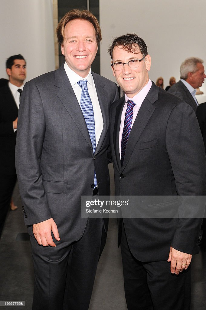 Jerome Kerr-Jarrett and Benn Konner attend LACMA's 2013 Collectors Committee - Gala Dinner at LACMA on April 13, 2013 in Los Angeles, California.