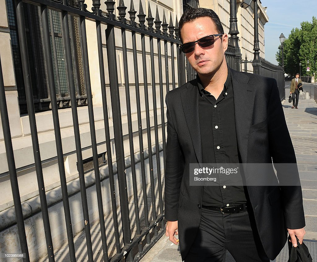 Jerome Kerviel former Societe Generale SA trader arrives at the courthouse for the final day of his trial in Paris France on Friday June 25 2010...