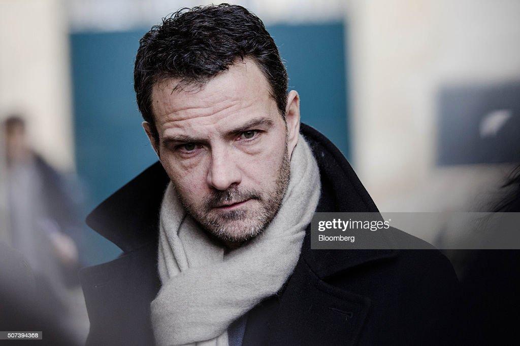 Jerome Kerviel former trader for Societe Generale SA arrives outside Versailles courthouse in Versailles France on Friday Jan 29 2016 Kerviel won a...
