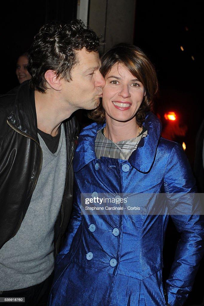 Jerome Kircher and Irene Jacob attend the ' Bal de la Truffe' in Paris.