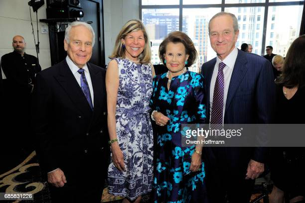 Jerome Lewine Jamee Gregory Hildegarde 'Hillie' Mahoney and Peter Gregory attend The Boys' Club of New York Annual Awards Dinner at Mandarin Oriental...