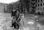 Jerome McKeever and Richard Wheeler 10 years old at Boston Road and charlotte St They didn't get to see President Carter tour the South Bronx