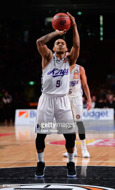 Jerome Randle of the Sydney Kings during the round seven NBL match between Adelaide 36ers and the Sydney Kings at Titanium Security Arena on November...