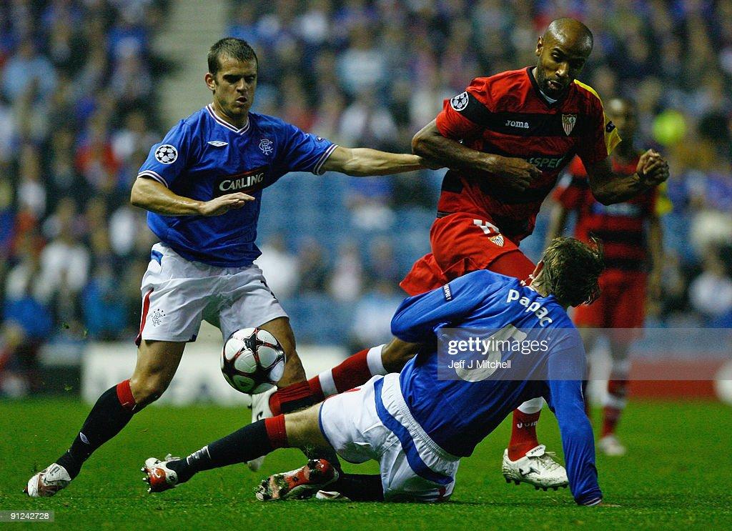 Rangers v Sevilla - UEFA Champions League