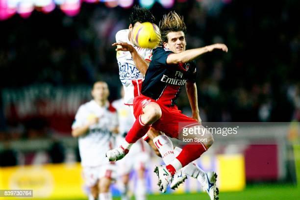 Jerome ROTHEN / Sebastien BERENGUER PSG / Nancy 14eme journee de Ligue 1