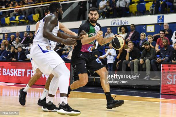 Jerome Sanchez of Boulazac during the Pro A match between Levallois Metropolitans and Boulazac at Salle Marcel Cerdan on October 21 2017 in Paris...