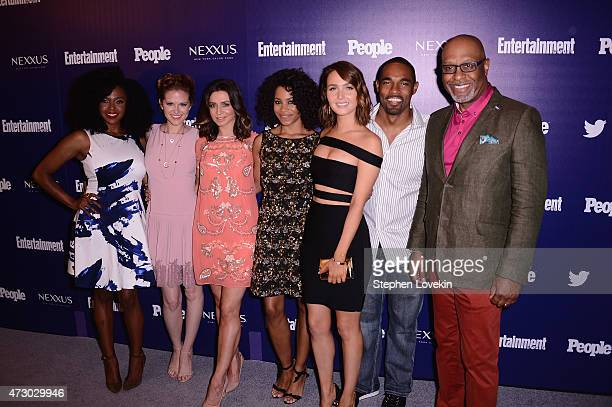 Jerrika Hinton Sarah Drew Caterina Scorsone Kelly McCreary Camilla Luddington Jason Winston George and James Pickens Jr of Grey's Anatomy attend the...