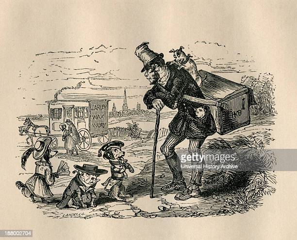 Jerry And His Dancing Dogs From The Old Curiosity Shop By Charles Dickens