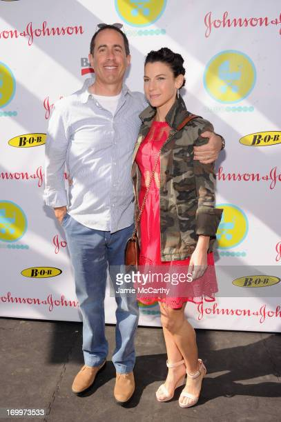 Jerry and Jessica Seinfeld attend the 2013 Baby Buggy Bedtime Bash hosted by Jessica and Jerry Seinfeld and sponsored by Johnson Johnson and...