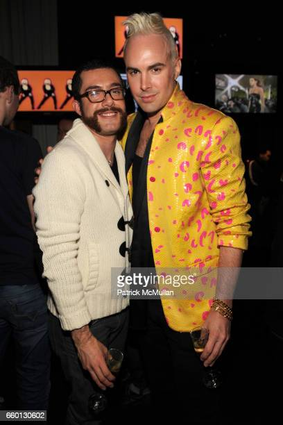 Jerry Beersdorf and David Blond attend ROGER PADILHA MAURICIO PADILHA Celebrate Their Rizzoli Publication THE STEPHEN SPROUSE BOOK Hosted by DEBBIE...