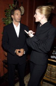 Jerry Bruckheimer and Cate Blanchett during 'Veronica Guerin' Special Screening and After Party in New York City at MGM Screening Room and Hotel...