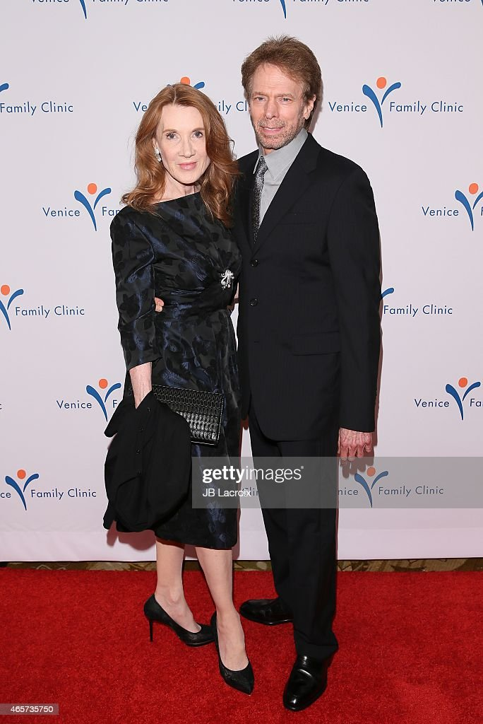 <a gi-track='captionPersonalityLinkClicked' href=/galleries/search?phrase=Jerry+Bruckheimer&family=editorial&specificpeople=203316 ng-click='$event.stopPropagation()'>Jerry Bruckheimer</a> and <a gi-track='captionPersonalityLinkClicked' href=/galleries/search?phrase=Linda+Bruckheimer&family=editorial&specificpeople=227986 ng-click='$event.stopPropagation()'>Linda Bruckheimer</a> arrive at Venice Family Clinic's 33rd Annual Silver Circle Gala at the Beverly Wilshire Four Seasons Hotel on March 9, 2015 in Beverly Hills, California.
