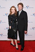 Jerry Bruckheimer and Linda Bruckheimer arrive at Venice Family Clinic's 33rd Annual Silver Circle Gala at the Beverly Wilshire Four Seasons Hotel on...