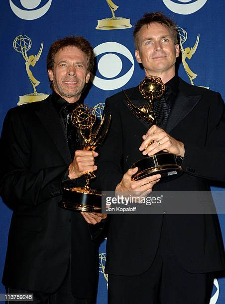 Jerry Bruckheimer and Phil Keoghan winners of Outstanding Reality/ Competition Program for 'The Amazing Race'