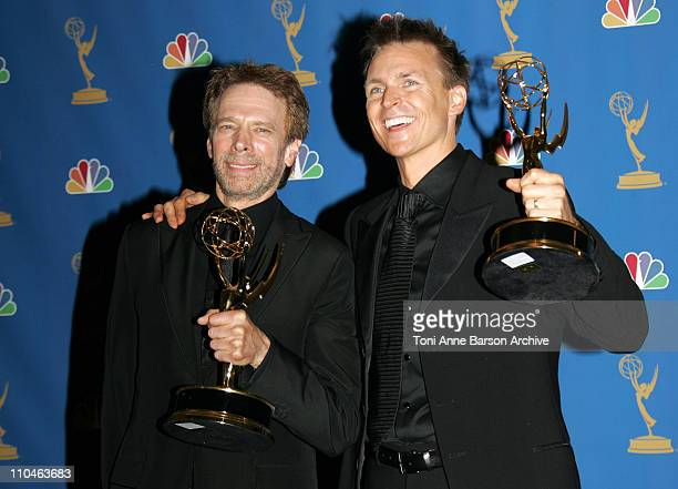 Jerry Bruckheimer and Phil Keoghan winners Outstanding RealityCompetition Program for 'The Amazing Race'