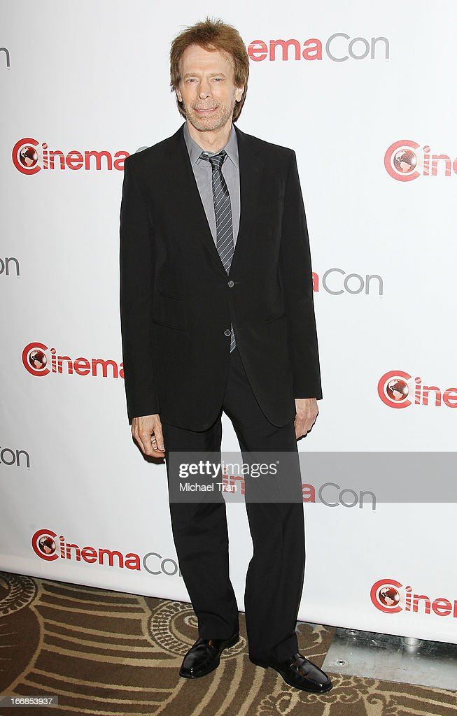 Jerry Bruckheimer appears at a Walt Disney Studios Motion Pictures presentation to promote the upcoming film 'The Lone Ranger' held at The Colosseum at Caesars Palace during CinemaCon, the official convention of the National Association of Theatre Owners on April 17, 2013 in Las Vegas, Nevada.