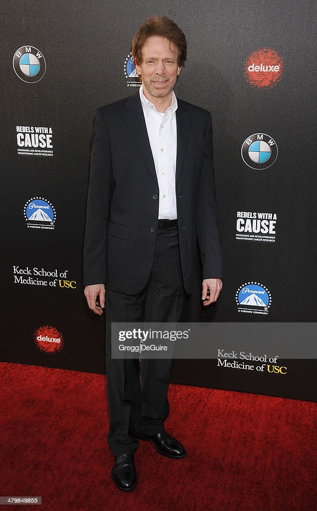 Jerry Bruckheimer arrives at the 2nd Annual Rebel With A Cause Gala at Paramount Studios on March 20 2014 in Hollywood California
