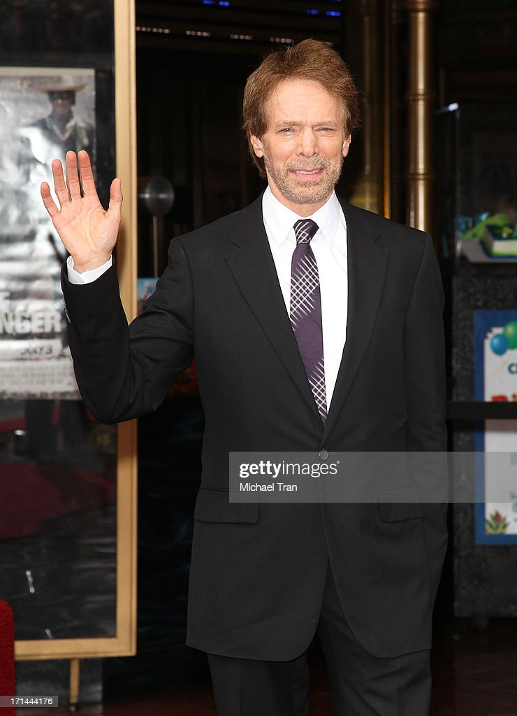 <a gi-track='captionPersonalityLinkClicked' href=/galleries/search?phrase=Jerry+Bruckheimer&family=editorial&specificpeople=203316 ng-click='$event.stopPropagation()'>Jerry Bruckheimer</a> attends the ceremony honoring him with a Star on The Hollywood Walk of Fame held in front of El Capitan Theatre on June 24, 2013 in Hollywood, California.