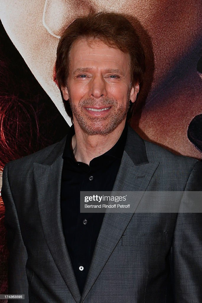 <a gi-track='captionPersonalityLinkClicked' href=/galleries/search?phrase=Jerry+Bruckheimer&family=editorial&specificpeople=203316 ng-click='$event.stopPropagation()'>Jerry Bruckheimer</a> attends the Paris Premiere of 'Lone Ranger' on July 24, 2013 at UGC Normandy in Paris, France.