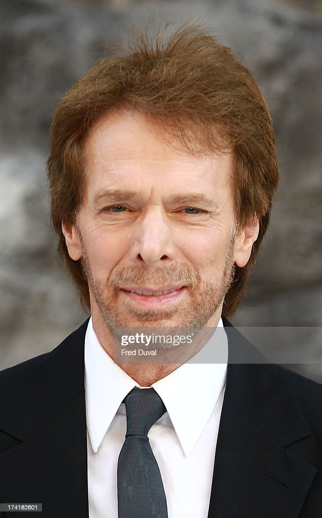 Jerry Bruckheimer attends the premiere of 'The Lone Ranger' at Odeon Leicester Square on July 21, 2013 in London, England.