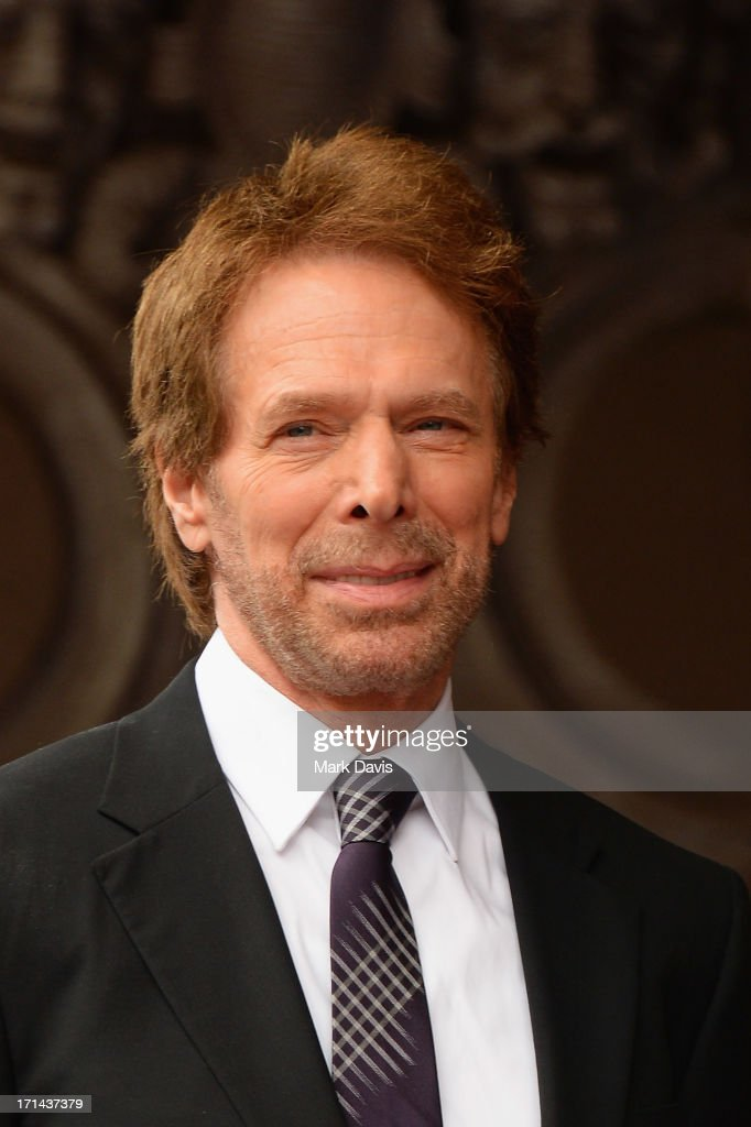 <a gi-track='captionPersonalityLinkClicked' href=/galleries/search?phrase=Jerry+Bruckheimer&family=editorial&specificpeople=203316 ng-click='$event.stopPropagation()'>Jerry Bruckheimer</a> is honored on the Hollywood Walk Of Fame on June 24, 2013 in Hollywood, California.