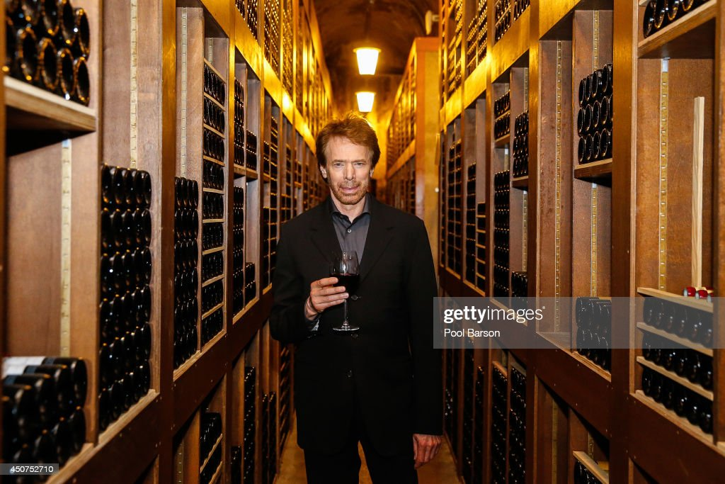 <a gi-track='captionPersonalityLinkClicked' href=/galleries/search?phrase=Jerry+Bruckheimer&family=editorial&specificpeople=203316 ng-click='$event.stopPropagation()'>Jerry Bruckheimer</a> visits the Wine Cave of the Hotel de Paris furing the 54th Monte Carlo TV Festival on June 9, 2014 in Monte-Carlo, Monaco.