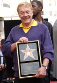 Jerry Buss during Jerry Buss Honored with a Star on the Hollywood Walk of Fame at 6801 Hollywood Blvd in front of Hollywood Highland in Hollywood CA...