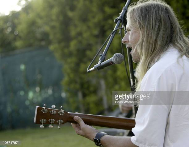 Jerry Cantrell during No Ten by Tanqueray hosts Angela Lindvall's Pool Party Benefitting The Collage Foundation at Private Residence in Pacific...