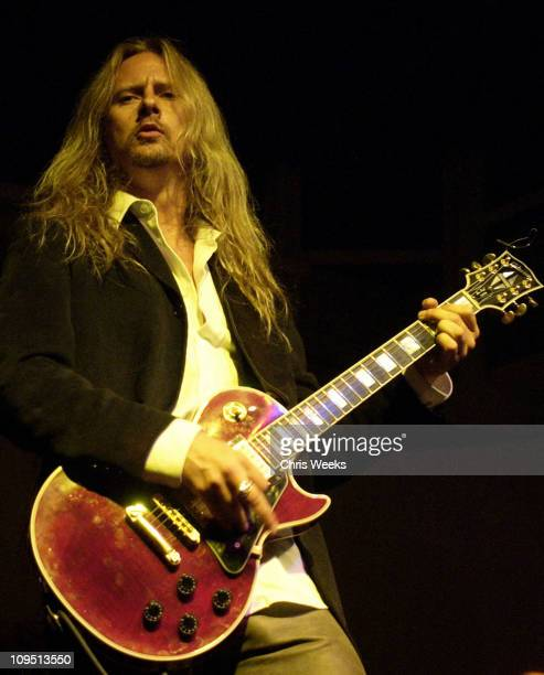 Jerry Cantrell during Rock da HouseA Benefit for Convenant HouseFashion Show and All Star Jam at Quixote Studios in West Hollywood California United...