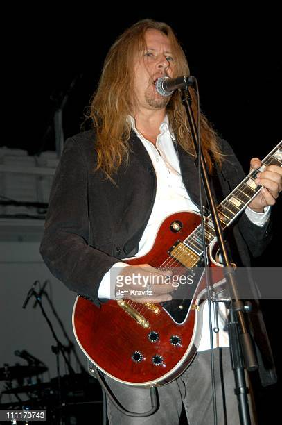 Jerry Cantrell during Rock da HouseA Benefit for Convenant HouseFashion Show and All Star Jam at Quixote Studios in Hollywood California United States