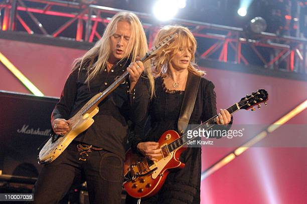 Jerry Cantrell of Alice in Chains and Nancy Wilson of Heart