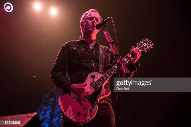 Jerry Cantrell of Alice in Chains performs at Alexandra Palace on November 9 2013 in London England