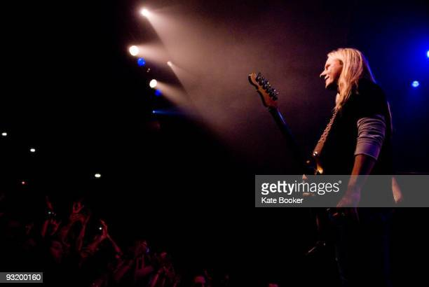 Jerry Cantrell of Alice In Chains performs at The Forum on November 17 2009 in London England