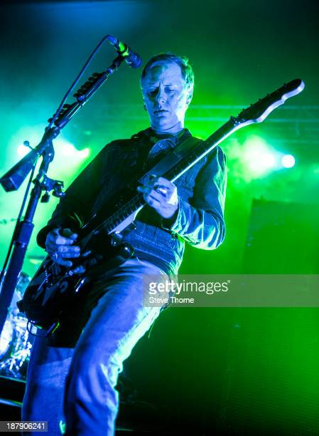 Jerry Cantrell of Alice In Chains performs on stage at O2 Academy Birmingham on November 13 2013 in Birmingham United Kingdom