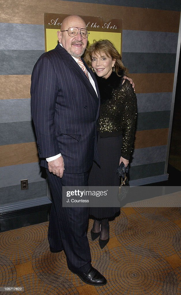 Jerry Della Femina and Judy Licht during 20th Annual Academy of the Arts Lifetime Achievement Awards Gala Arrivals at Rainbow Room in New York City, New York, United States.