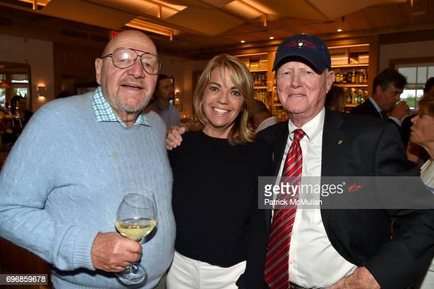 Jerry Della Femina Lori Schiaffino and Edward Burke attend Cocktails to Learn About The Sag Harbor Cinema Project at Le Bilboquet on June 16 2017 in...