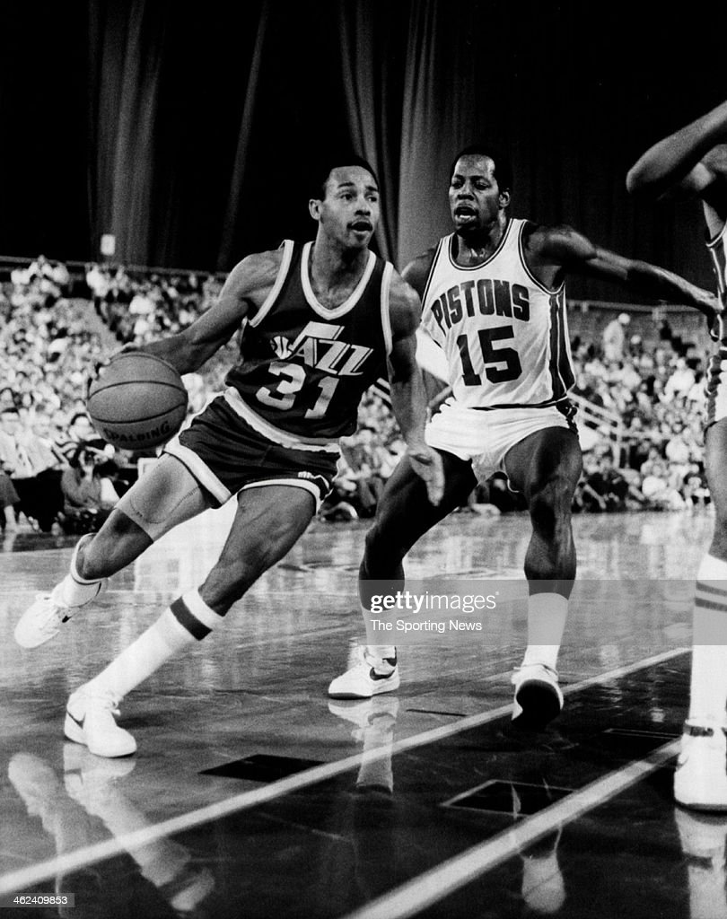 Jerry Eaves Utah Jazz
