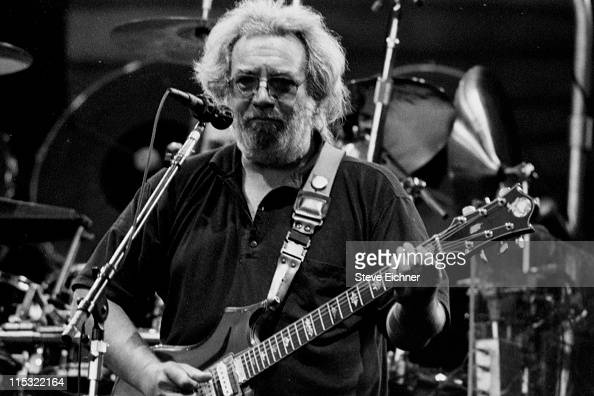 Jerry Garcia of Grateful Dead during Grateful Dead in Concert at Cal Expo 1989 at Cal Expo in New York City New York United States