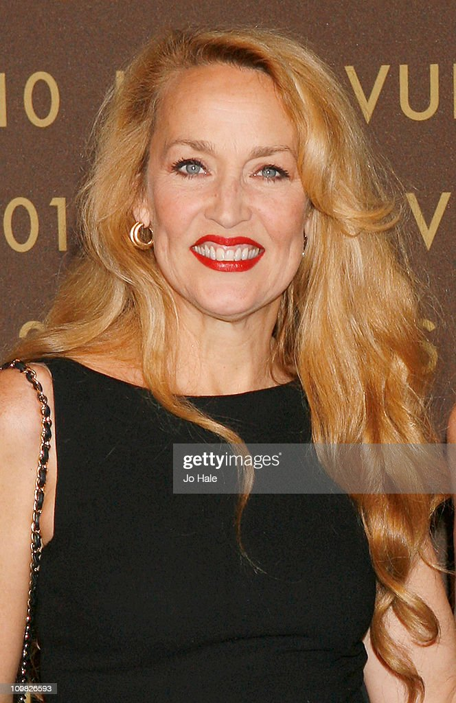 Jerry Hall attends the after party for the launch of the Louis Vuitton Bond Street Maison on May 25, 2010 in London, England.