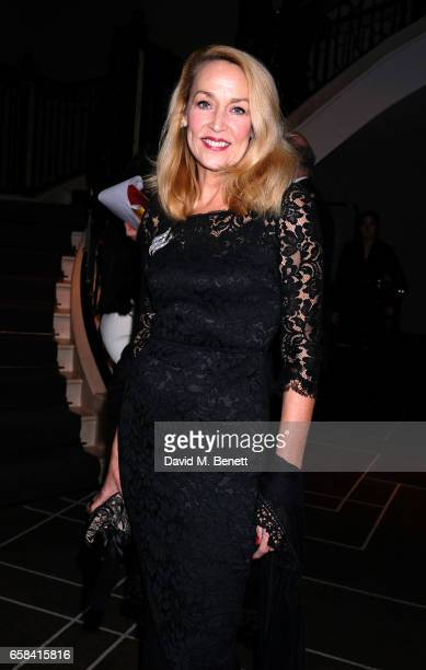 Jerry Hall attends the English National Opera Spring Gala 2017 at Rosewood London on March 27 2017 in London England