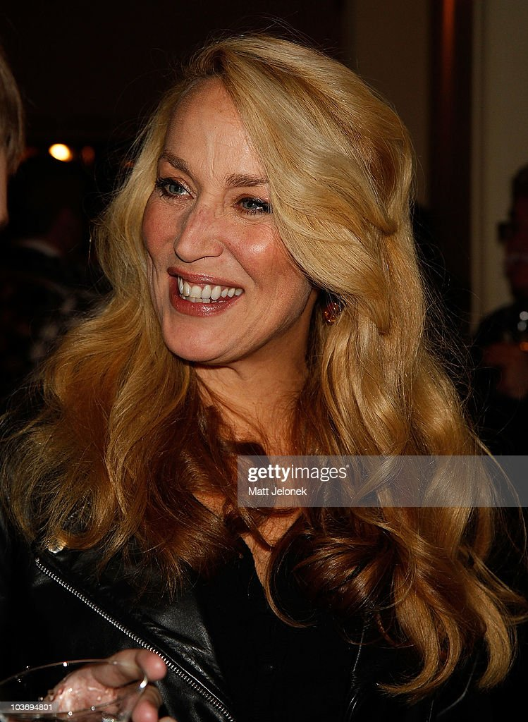 jerry hall attends quotthe graduatequot opening night party