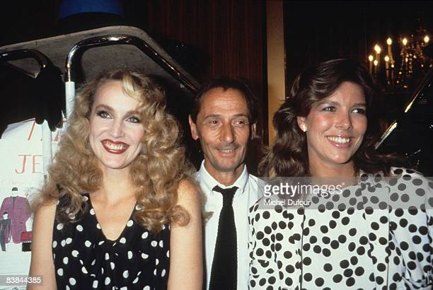 Jerry Hall with Marc Bohan and Pesse Caroline de Monaco backstage Dior fashion show 1994 in Paris Jerry Hall just gave an interview to a UK celebrity...
