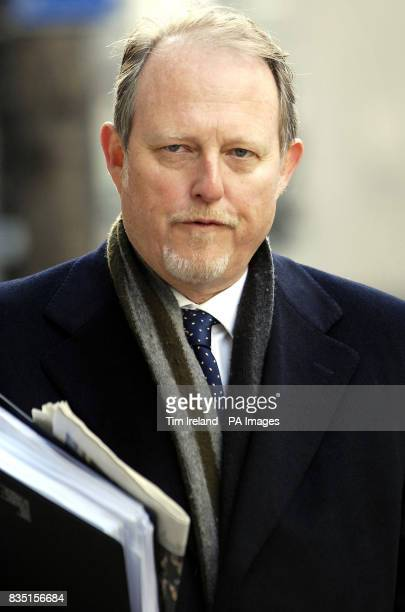 Jerry Lees arrives at the London Central Employment Tribunal where he is accused of sexual harassment
