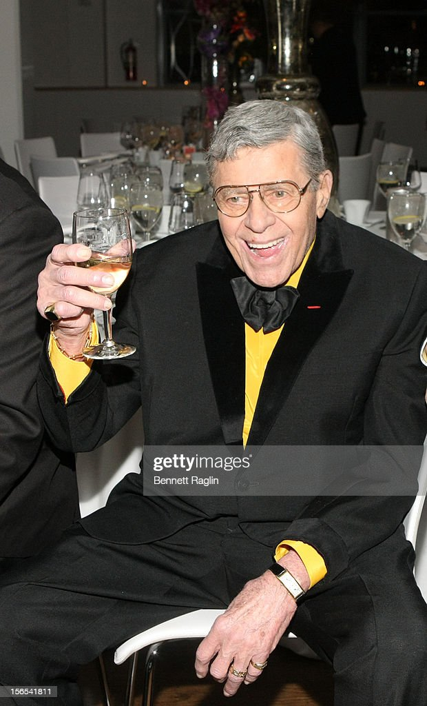 Jerry Lewis attends the 2012 SASS Foundation Gala Dinner Honoring Jerry Lewis at Three Sixty on November 16, 2012 in New York City.