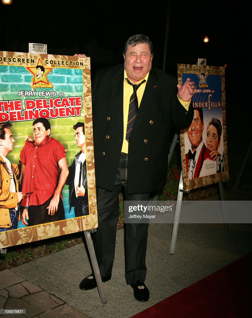 Jerry Lewis during Jerry Lewis Hosts Special Screening of 'The Nutty Professor' at Paramount Theater in Hollywood, California, United States.
